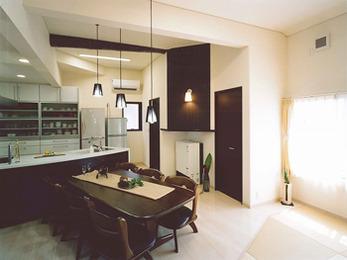 キッチンが予想以上に広くなり、使いやすくなりました。