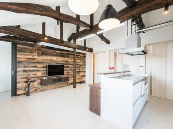立派なお家を通してみんなが集まる明るい空間ができ、嬉しく思います