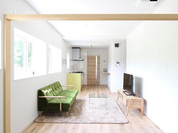 平屋にすることで構造評点1.26まで向上し、耐震性能を長期優良住宅化リフォームA基準までアップしました。