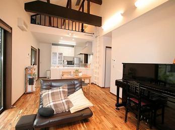 アパート住まい、新築では叶えられなかった夢の実現が出来ています。