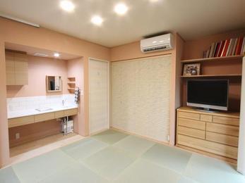 寝室が快適になったことでご両親を安心して招待できるようになりました。