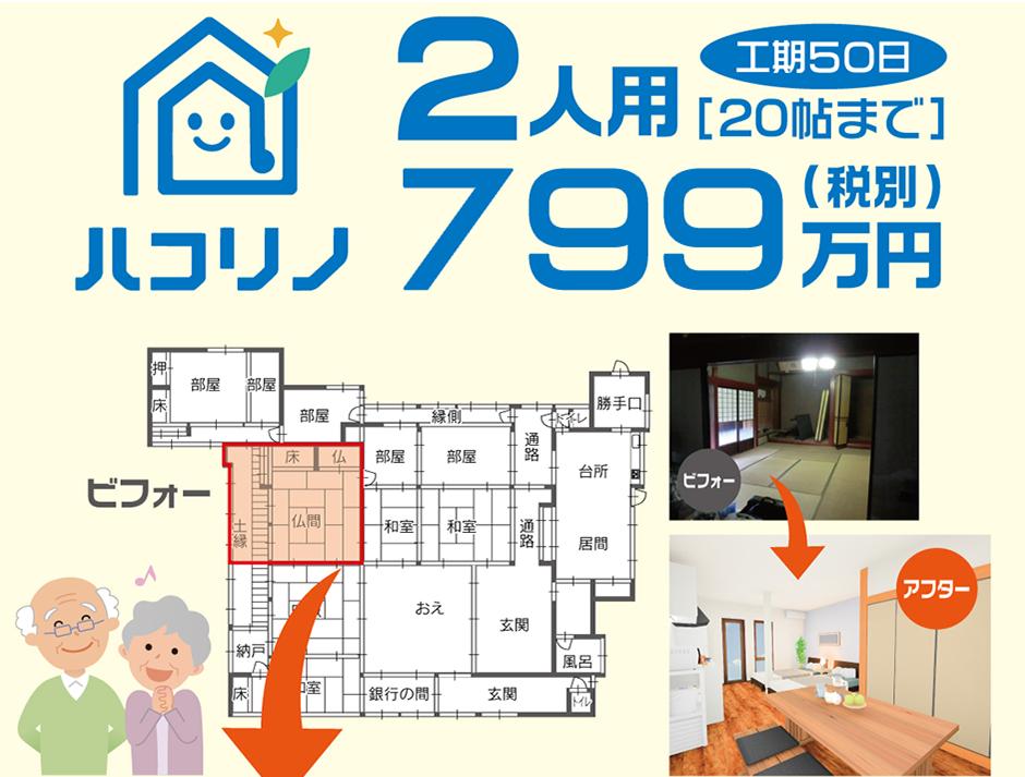 2人用699万円(税別)